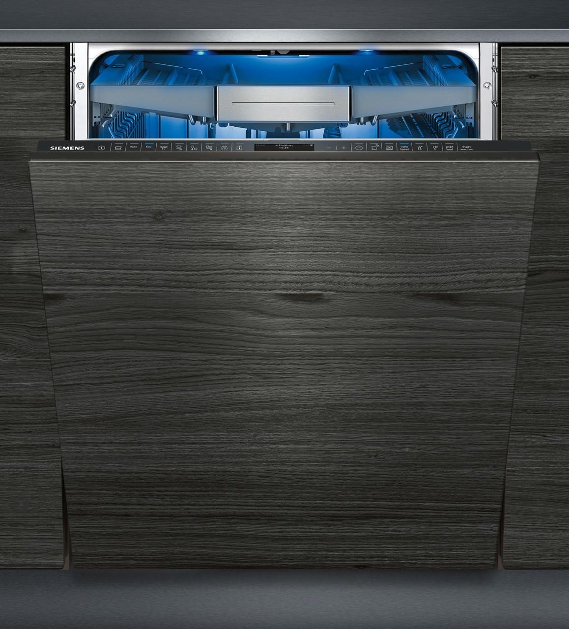 siemens vollintegrierbar geschirrsp ler 60 cm sn778d16te silver tech gmbh qualit t f r. Black Bedroom Furniture Sets. Home Design Ideas
